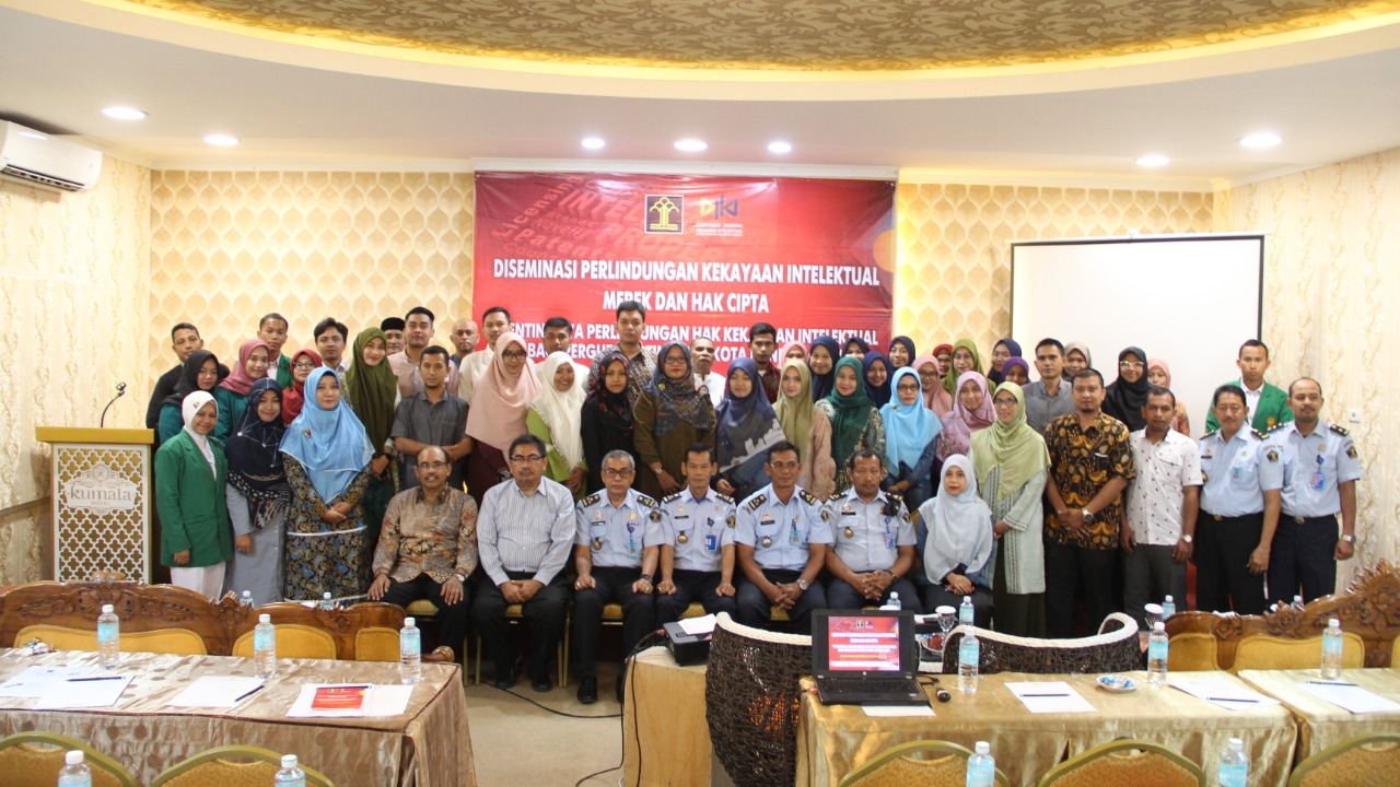 AKAFARMA ikut berpartisipasi dalam kegiatan Diseminasi Perlindungan Hak Kekayaan Intelektual