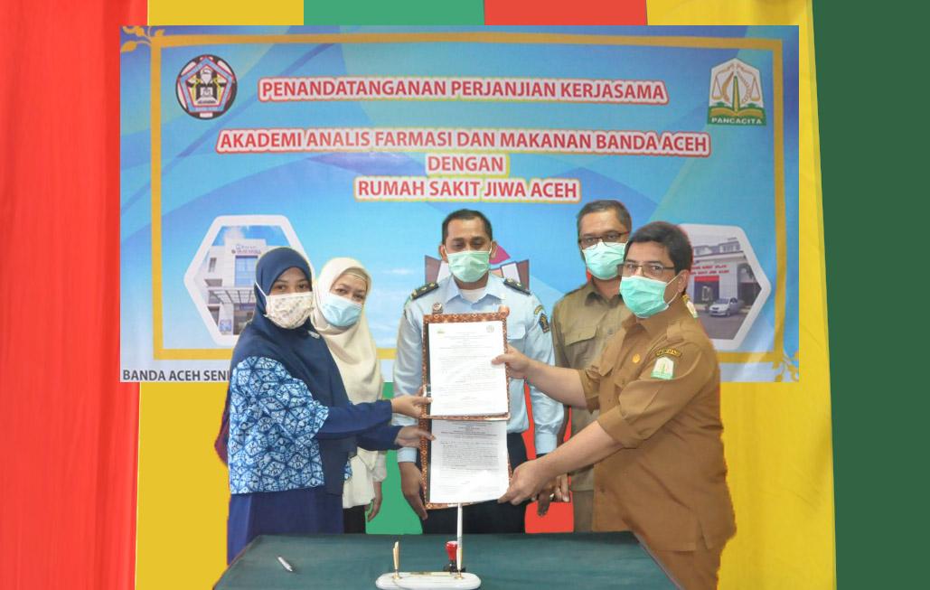 Akafarma Banda Aceh Jalin Kerjasama dengan Rumah Sakit Jiwa Aceh